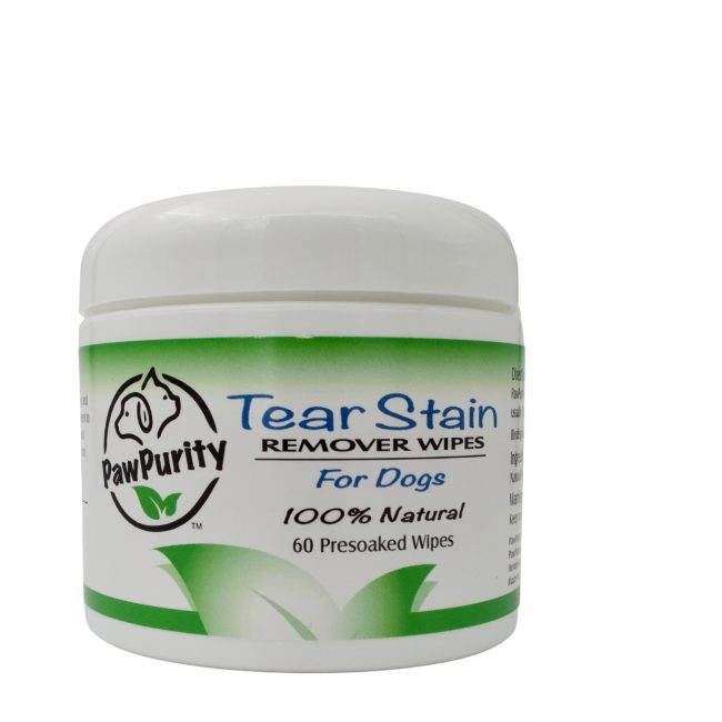 Image of PawPurity Tear Stain Remover Wipes for Dogs