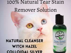 List of the natural ingredients used in PawPurity Tear Stain Remover Solution for Cats