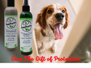 Protecting pets naturally from fleas and ticks is important and this is an alternative to collars, pesticidal spot-on applications and pills.