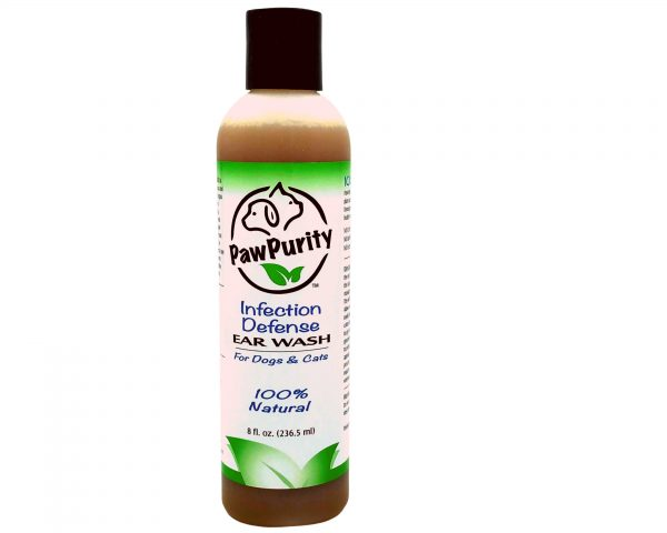 PawPurity Infection Defense Ear Wash is 100% natural