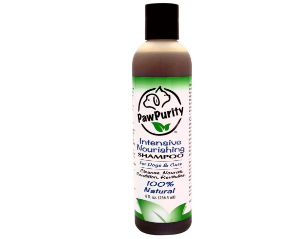 PawPurity Intensive Nourishing Shampoo Fosters a Natural Healthy Skin and Coat